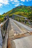 ニュージーランドの小さな橋の写真 — ストック写真