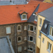 A City scape of old houses in Aalborg, Denmark - 