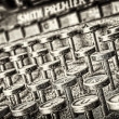 Typewriter - grunge style. Usefull as background - 