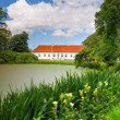 Old Danish manor house — Stock Photo