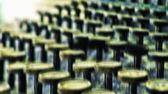 Grunge - une photo d'une très vieille machine à écrire — Photo