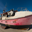 Stock Photo: Photo of Fishing boat on beach, Jutland, Denmark