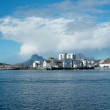 A photo of a Bodo Harbor North of the Polar Circle, Bodo, Norway — Stock Photo