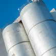 Photo of Industrial Silos — Stock Photo