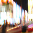 Stock Photo: Photo of motion blurred city life