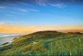A photo of coastline in Jutland, Denmark — Stock Photo