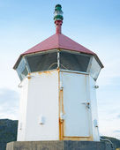 A photo of an old lighthouse - Norway — Stock Photo