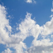 A photo of clouds — Foto Stock