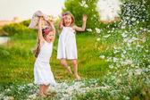 Happy childhood — Стоковое фото