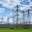 Stock Photo: Electrical station