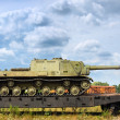 Stock Photo: Battle tanks