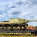 Battle tanks — Stock Photo