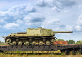 作战坦克 — 图库照片