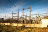 Przesyłania energii elektrycznej — Zdjęcie stockowe
