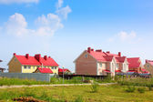 Cottage settlement — Стоковое фото