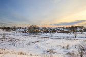 Krajobraz wsi — Zdjęcie stockowe