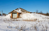 Rustic house — Stock Photo