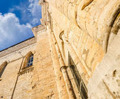 High walls of ancient buildings — Stock Photo