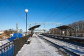 Vlakové nádraží — Stock fotografie