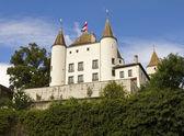 Nyon castle — Stockfoto
