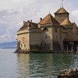 Royalty-Free Stock Photo: Chateau de Chillon on Lake Geneva
