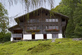 House from Brienz BE — Stock Photo