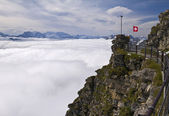 View from the Niesen Kulm — Stock Photo