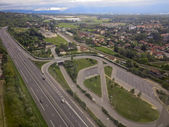 View of road system — Stock Photo