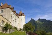 Gruyeres hrad — Stock fotografie