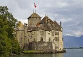 Château de chillon, no lago de genebra — Foto Stock