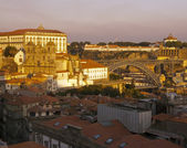 North side of Porto at evening — Stock Photo