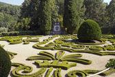 Delightful garden of Casa de Mateus — Stock fotografie