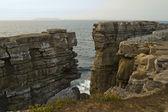 Beautiful Cliffs of Peniche — Stock Photo