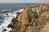 Unusual Cliffs of Peniche Peninsula — Stock Photo