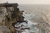 Cliffs of the peninsula of Peniche — Stock Photo