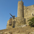 Stock Photo: Tower of Obidos castle