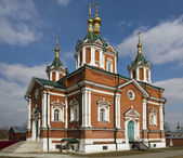 The Cathedral of Feast of the Cross of Kolomna Kremlin — Stock Photo