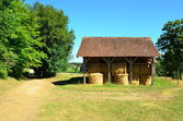 Hay Shed in the Dordogne — Stock Photo
