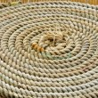 Rope in circles on boat — Stock Photo #12683532