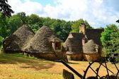 Cabanes du Breuil, Dordogne, France — Stock Photo