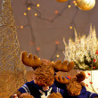 Reindeer at Chrismas — Stock Photo #14979207