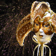 Golden VenetiMask — Stock Photo #32659103