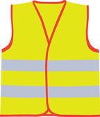 Safety vest — Stockvektor