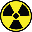 Radiation danger - Stock Vector