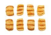 Bacon chips — Stock Photo