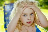 The little girl . — Stock Photo