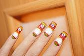 Design delle unghie. — Foto Stock