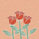 Roses — Vettoriale Stock