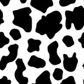 Seamless Cow Pattern — Stock Vector