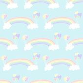 彩虹背景 — 图库矢量图片
